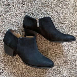 Franco Sarto leather booties